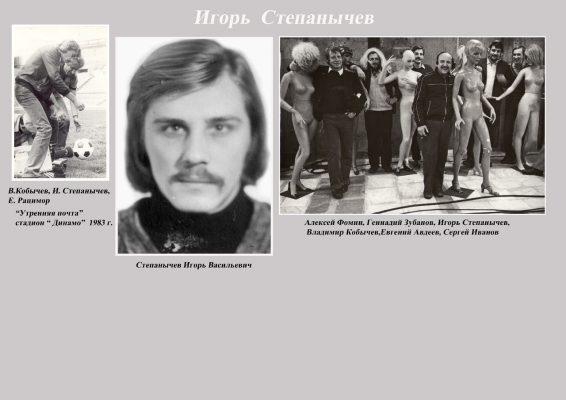 Степанычев Игорь сайт