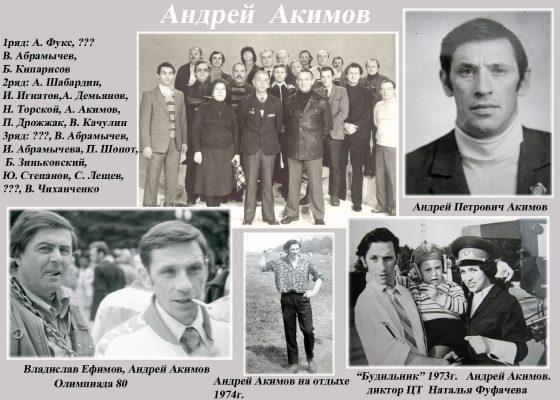 Акимов Андрей сайт